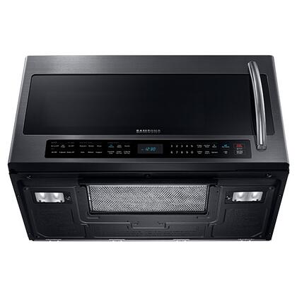 Samsung Me21h706mqg 2 1 Cu Ft Over The Range Microwave