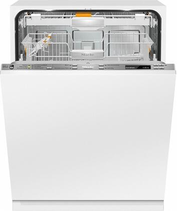 """Miele G688xSCVIx 24"""" Futura Diamond Series Energy Star Qualified Dishwasher with Fully Integrated Control Panel, 14 Wash Programs, 16 Place Settings, 3D Cutlery Tray, and Knock2Open, in Panel Ready"""