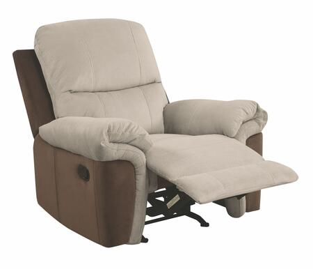 Glory Furniture G528RC G520 Series Suede Metal Frame  Recliners
