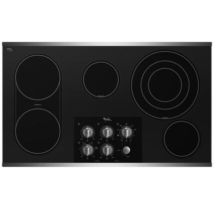 Whirlpool G7CE3655XS Gold Series Electric Cooktop