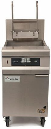 """Frymaster GPCB 20"""" Pasta Magic Series Commercial Gas Pasta Cooker with 80000 BTU, 15 Gallon Capacity, OverFlow Drain, Infrared Burners, Timer Controller and Auto Timed Basket Lifts, in Stainless Steel"""
