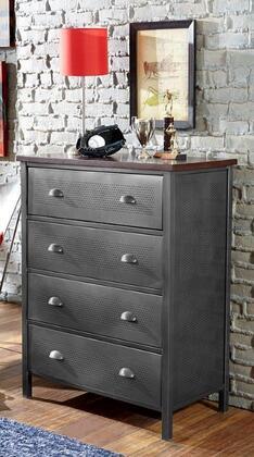 Hillsdale Furniture 1265784R Urban Quarters Series Metal Chest