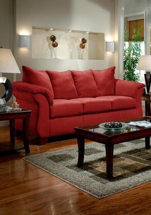 Chelsea Home Furniture 6703RB Verona IV Series Stationary Fabric Sofa