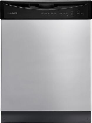 "Frigidaire FFBD2411N 24"" Full Console Built in Dishwasher with 14 Place Settings, 5 Wash Cycles, 55 dBA Quiet Dishwasher, Tall Tub Design, Energy Saver Plus Cycle, NSF Certified and Energy Star Qualified in"
