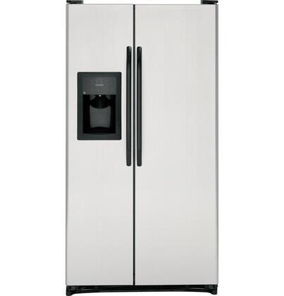 GE GSL22JFZLB  Side by Side Refrigerator with 21.9 cu. ft. Capacity in CleanSteel