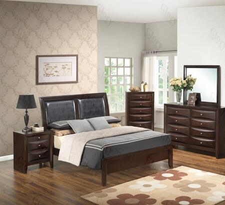 Glory Furniture G1525AFBDMN G1525 Full Bedroom Sets