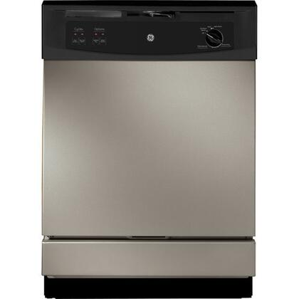 GE GSD2340VSA 2300 Series Built-In Full Console Dishwasher with in Silver