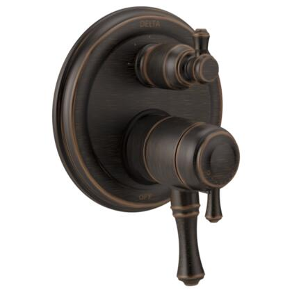 Cassidy T27897-RB Delta Cassidy: Traditional Monitor 17 Series Valve Trim with 3-Setting Integrated Diverter in Venetian Bronze
