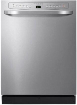 """Haier DWL4035MCSS 24"""" Built-In Full Console Dishwasher"""