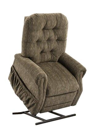 MedLift 2553BC Contemporary Fabric Wood Frame  Recliners