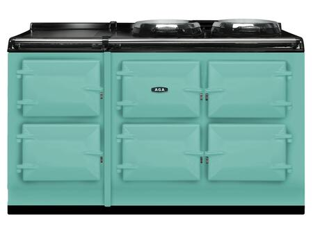 AGA ATC5PIS Total Control Series Slide-in Electric Range with  in Pistachio