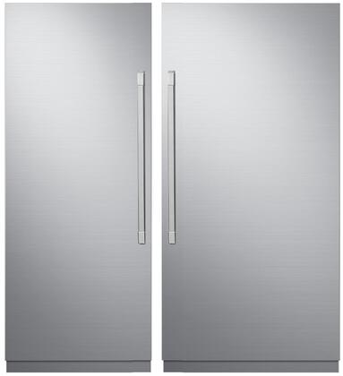 Dacor 869548 Modernist Side-By-Side Refrigerators