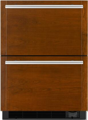 "Jenn-Air JUD24FCE 24"" Refrigerator Drawers with Freezer, Dual Controlled Temperature Zones, Sabbath Mode, Automatic Ice Maker, and Water Filter, in"