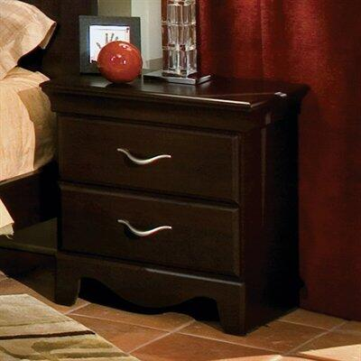 Standard Furniture 7667 City Crossings Series Rectangular Wood Night Stand