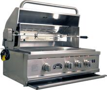 Sole SO30BQRRL Built In Natural Gas Grill