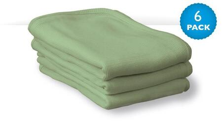 "Foundations ThermaSoft CB-00-XX-06 40"" Blankets with 100% Cotton Knit Thermal, Sewn Hem"