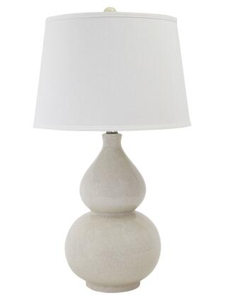 """Signature Design by Ashley L10004 17"""" Table Lamp with Glaze Ceramic Construction, Modified Drum Shade and Three Way Switch, in"""