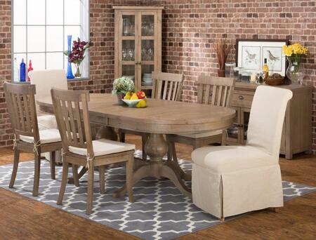 Jofran 94196TBKTSET7M Slater Mill Dining Room Sets