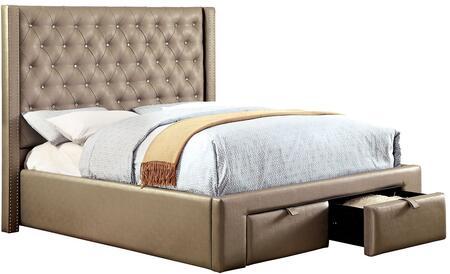 Furniture of America CM7180QBED Corina Series  Queen Size Bed