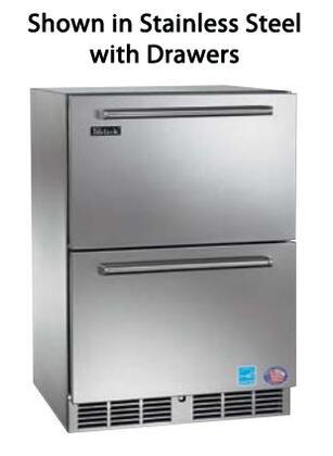 Perlick HP24FS5 Freestanding Refrigerator Drawer(s) Counter Depth Freezer |Appliances Connection