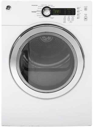 "GE DCVH480EKWW 24"" Electric Dryer"