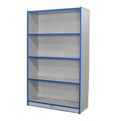 Mahar M60SCASENV Wood 4 Shelves Bookcase