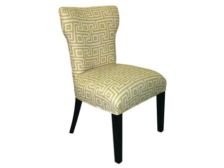 Stein World 12137 Armless Fabric Wood Frame Accent Chair