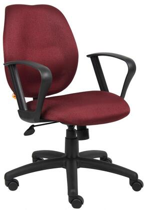 "Boss B1015BY 26"" Adjustable Contemporary Office Chair"