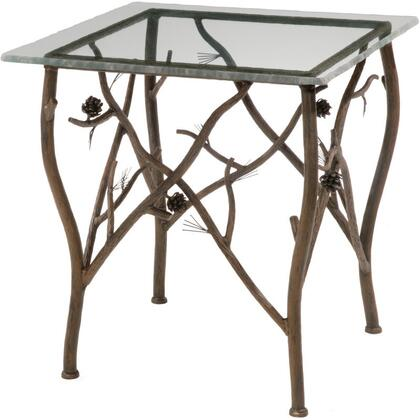 Stone County Ironworks 904-079 Pine Side Table