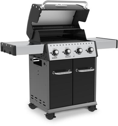Broil King 922154 24 Inch Baron 420 With 4 Stainless Steel