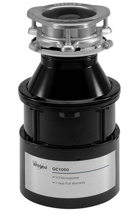 Whirlpool GC1000PE Continuous Feed 0.33 HP Food Disposer