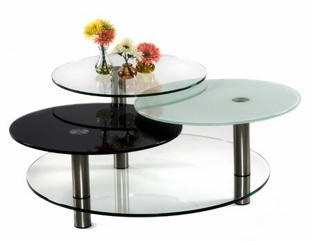 Chintaly 7206CT Contemporary Table