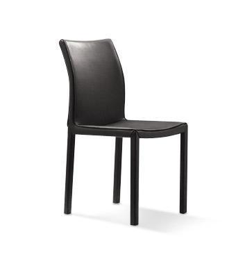 VIG Furniture VGLEY06BLK Modrest Series Modern Metal Frame Dining Room Chair