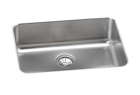 """Elkay ELUH231712 25"""" Undermount 18-Gauge Single Bowl Stainless Steel Sink"""