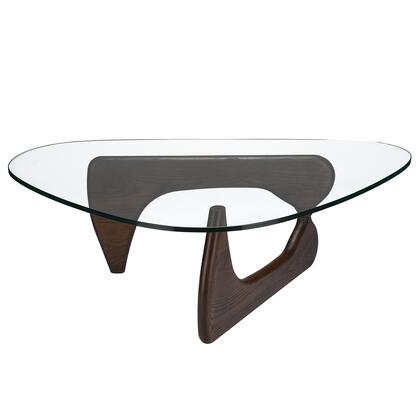EdgeMod EM149DWAL Walnut Contemporary Table
