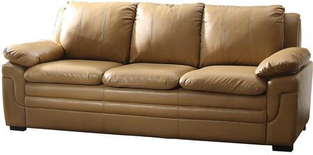 Glory Furniture G281S  Stationary Faux Leather Sofa