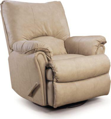 Lane Furniture 2053167576717 Alpine Series Transitional Leather Wood Frame  Recliners