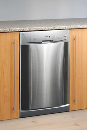 "Fagor LFA45X 18"" Built In Fully Integrated Dishwasher with 10 Place Settings Place Settingin Stainless Steel"