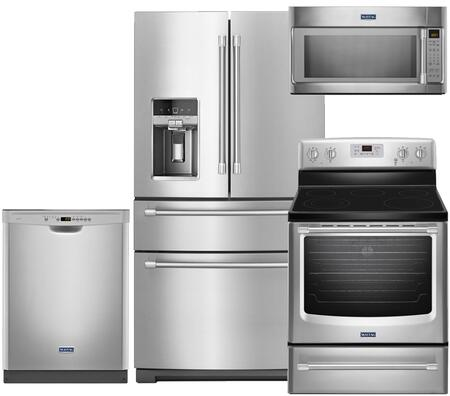 Maytag MY4PCFSFDEFCSSKIT4 Kitchen Appliance Packages