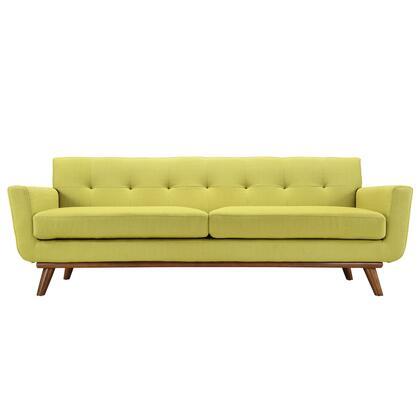 Modway EEI1180WHE Engage Series Stationary Fabric Sofa