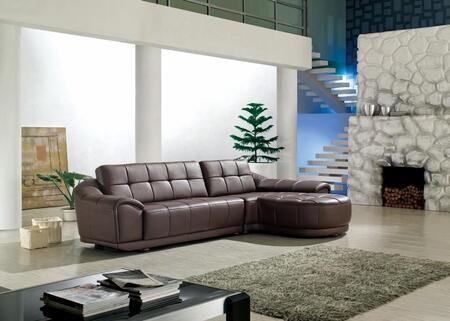 VIG Furniture VGDM2912A  Sofa and Chaise Bonded Leather Sofa