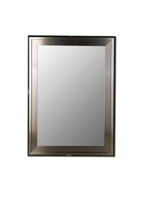 Hitchcock Butterfield 20460X Stainless / Stainless Framed Wall Mirror