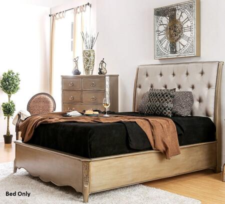 Furniture of America CM7432CKBED Celine Series  California King Size Bed