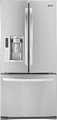 LG LFX25978ST  French Door Refrigerator with 24.9 cu. ft. Total Capacity 4 Glass Shelves |Appliances Connection