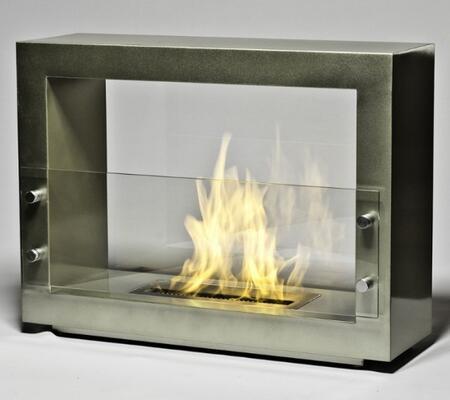 Brasa BR08WH Hudson Series  Bioethanol Fireplace