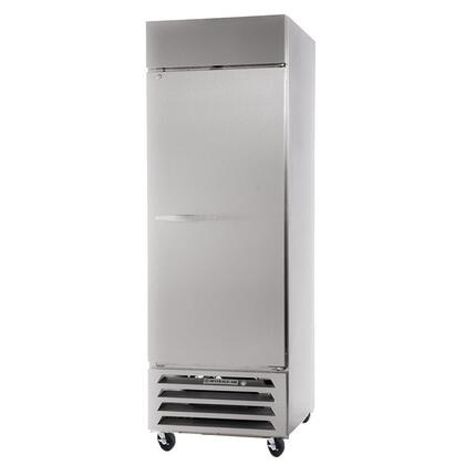 "Beverage-Air HBR23-1 27"" Horizon Series One Section [Solid Door] Reach-In Refrigerator, 23 cu.ft. Capacity, Stainless Steel Exterior and Interior, with Bottom Mounted Compressor"