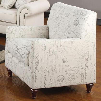 Coaster 502513 Norah Series Fabric with Wood Frame in Cream