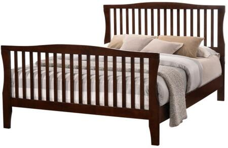 Furniture of America CM7070FBED Riggins Series  Full Size Panel Bed