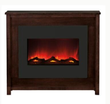 """Amantii ZECL-30-3226-MANT 30"""" Zero Clearance Electric Fireplace Unit Mantle with 4 Stage Back Light, Three Stage Heater, Remote Control and LED Light Technology in"""