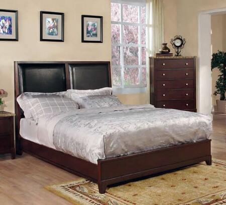 Coaster 202011Q Linden Series  Queen Size Panel Bed